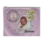 It s a Girl XL Cosmetic/Baby Stuff Bag - Cosmetic Bag (XL)