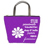Girl s Purple Diva Bucket Bag