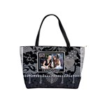 Friendship & Laughter Lace Shoulder Handbag - Classic Shoulder Handbag