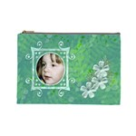 Frog Salad Large Cosmetic Case - Cosmetic Bag (Large)
