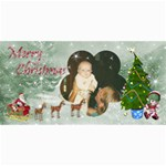 Here Comes Santa card set 1 - 4  x 8  Photo Cards
