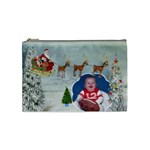 Here Comes Santa Medium Cosmetic bag - Cosmetic Bag (Medium)