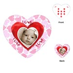 triple layer heart love love love playing cards - Playing Cards (Heart)