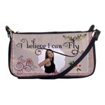 I Believe I Can Fly Shoulder Clutch Handbag - Shoulder Clutch Bag