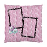 pink zebra-pillow - Standard Cushion Case (Two Sides)