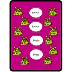 Pink and yellow - Blanket XL - Fleece Blanket (Large)