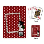Christmas Playing Cards 1001 - Playing Cards Single Design (Rectangle)