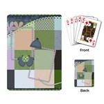 Playing Card Blustery Day 1001 - Playing Cards Single Design