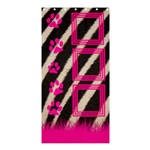 Zebra and pink - Shower courtain - Shower Curtain 36  x 72  (Stall)