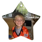 Connor ornament - Star Ornament (Two Sides)
