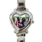 Mom Watch - Heart Italian Charm Watch