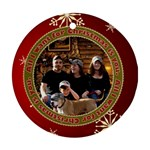 christmas 2 - Ornament (Round)