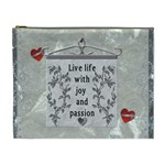 Live Life ... XL Cosmetic Bag - Cosmetic Bag (XL)