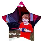 Bryant ornament - Star Ornament (Two Sides)