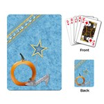Playing Cards-Ella in Blue 1002 - Playing Cards Single Design (Rectangle)
