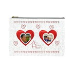 All of my heart medium cosmetic bag - Cosmetic Bag (Large)