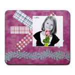 girl mousepad - Large Mousepad