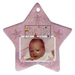 A Star is Born Baby Girl Ornament - Ornament (Star)