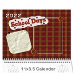 2019 calender for school teachers - Wall Calendar 11  x 8.5  (12-Months)
