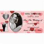 Wedding Save The Date Cards #2 - 4  x 8  Photo Cards