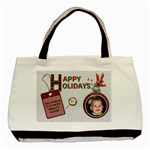 Happy Holidays Classic Tote Bag - Basic Tote Bag