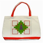 4christmas frames - Classic Tote Bag (Red)