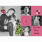 multi photo christmas card 7 - 5  x 7  Photo Cards