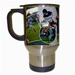 Football Mug2 - Travel Mug (White)