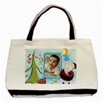 Pere Noel bag3 - Basic Tote Bag