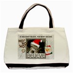 Believe in Santa Classic Tote Bag - Basic Tote Bag