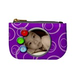 Purple Mini Custom Coin Purse - Mini Coin Purse