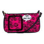 Pink skulls - BAG - Shoulder Clutch Bag