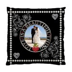 Wedding Memories 2-Sided Cushion - Standard Cushion Case (Two Sides)