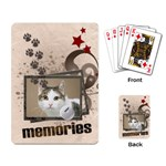 pet - Playing Cards Single Design