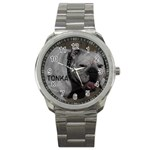 watch for gale with Tonka name on it  - Sport Metal Watch