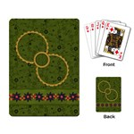 Gypsy Fall Playing Cards 1001 - Playing Cards Single Design (Rectangle)