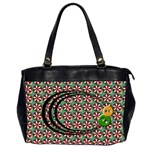 Retro  BAG - Oversize Office Handbag (2 Sides)