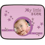 My little pink star - BLANKET - Fleece Blanket (Mini)