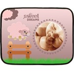 Sweet dreams PINK - BLANKET - Fleece Blanket (Mini)