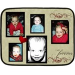 mom blanket - Double Sided Fleece Blanket (Mini)