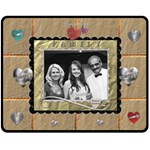 Family Love Medium Fleece Blanket - Fleece Blanket (Medium)