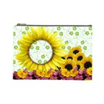 flowers cosmetic bag large M3 - Cosmetic Bag (Large)