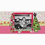 Merry Christmas Photo Card - 4  x 8  Photo Cards