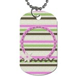 Little Princess Necklace - Dog Tag (Two Sides)