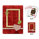 Happy Holidays Playing Cards 1001 - Playing Cards Single Design (Rectangle)