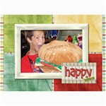 Happy Holidays 7x5 104 - 5  x 7  Photo Cards