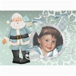 Christmas 7x5 santa2 - 5  x 7  Photo Cards