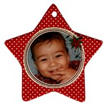 nikhil3 star - Ornament (Star)