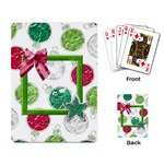 Merry and Bright Playing Cards 101 - Playing Cards Single Design