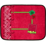 Merry and Bright Small Blanket - Fleece Blanket (Mini)